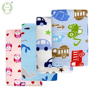 76x76cm 100% cotton Flannel Baby Blanket Newborn Super Soft Cartoon Blankets baby Receiving Blankets swaddle