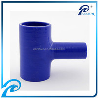 China 3 Ply High Heat Flexible T-Shape Silicone Tubing/Hose/Couplers