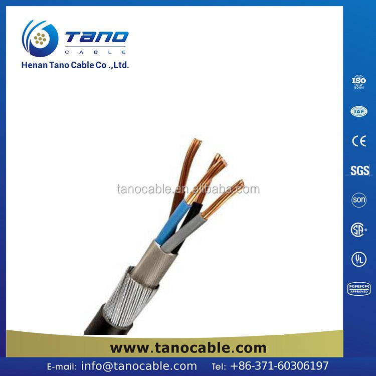 Electrical Cable Sizes Standard And Underground Cable Specifications ...