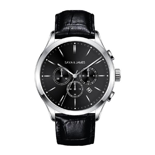reloj hombre cristal zafiro economico