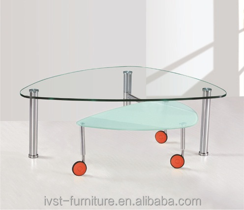 Modern Glass Coffee Tables With Wheels, Modern Glass Coffee Tables With  Wheels Suppliers And Manufacturers At Alibaba.com