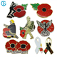 Good Quality Custom Poppy Pin Badge