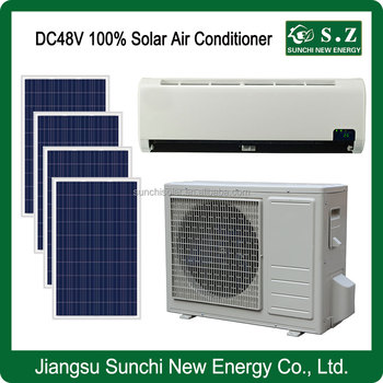 12000btu 18000btu Dc48 100 Solar Powered Air Conditioner