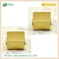 apc-463 2 piece gold paper chocolate box