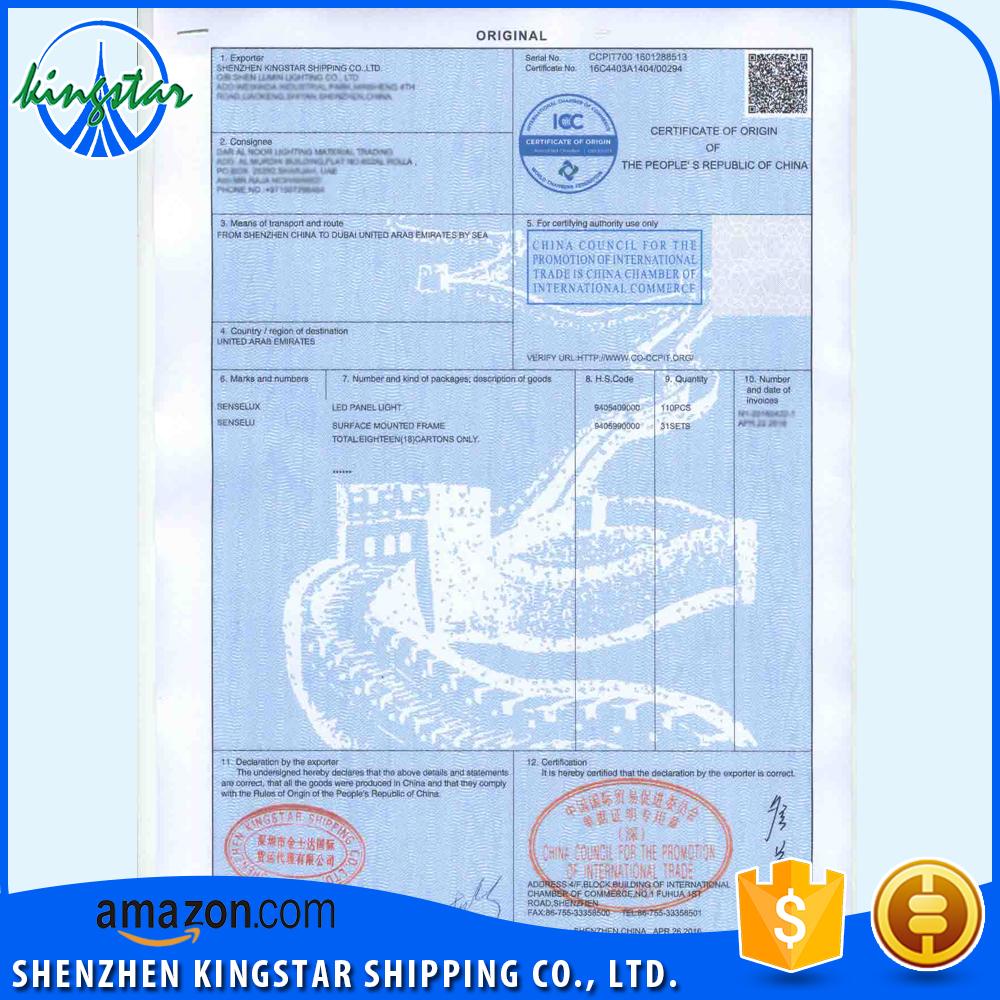 Certificate Of Origin Export Toys Co Buy Certificate Of Origin