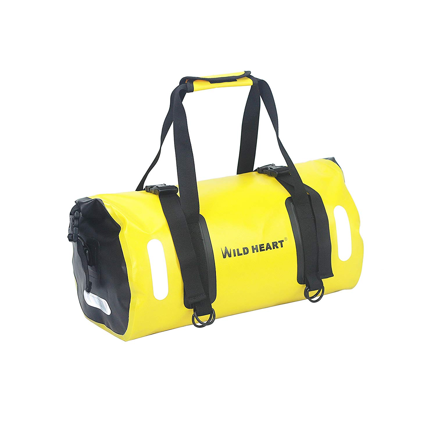 8900669a3 Get Quotations · WILD HEART Waterproof Bag Duffel Bag 20L for Kayaking,  Camping, Boating,Bycycle