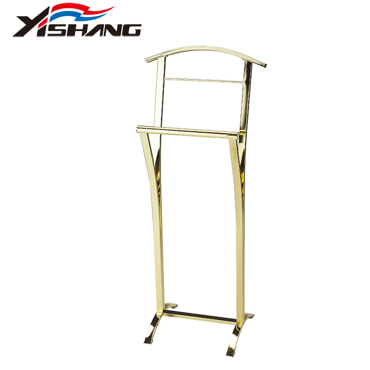 Stainless Steel Gold Hotel Hand Towel Display Rack Wholesale Custom Towel Rack