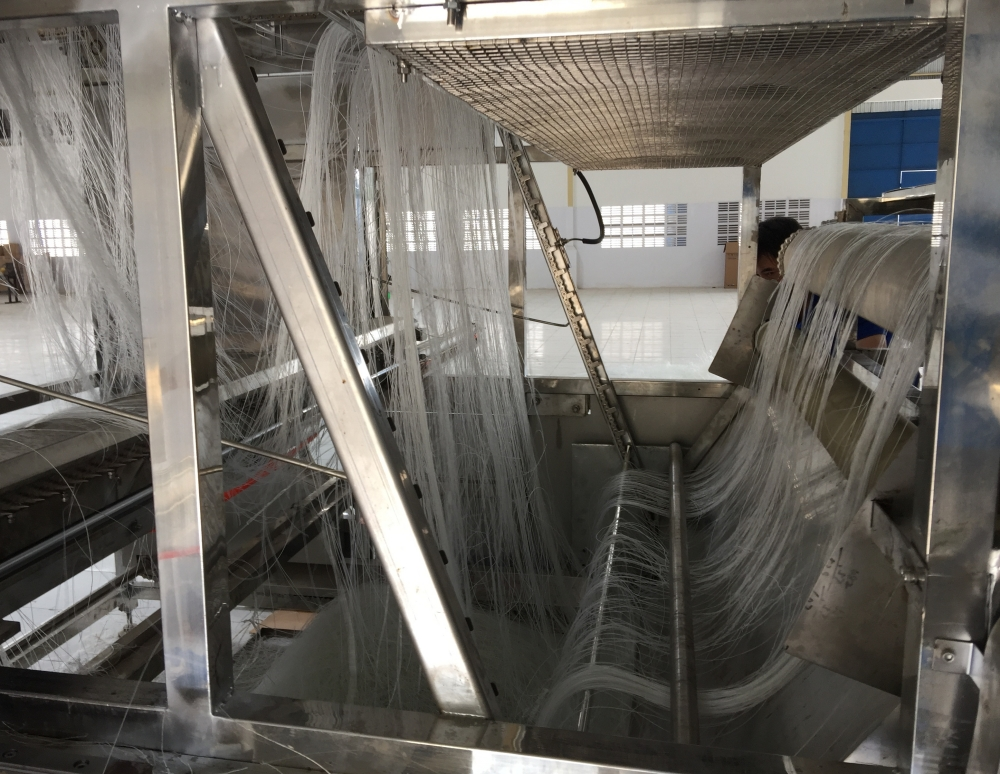 Non freezing Automatic Corn Starch Glass Noodle Making Machine /Mung Bean Starch Vermicelli Making Machine