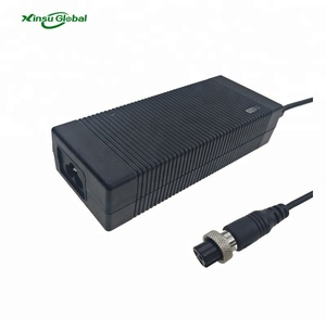 Multiple AC inlet DC output current 5a 14.5v battery charger with air plug