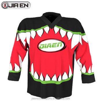 goalie cut jersey
