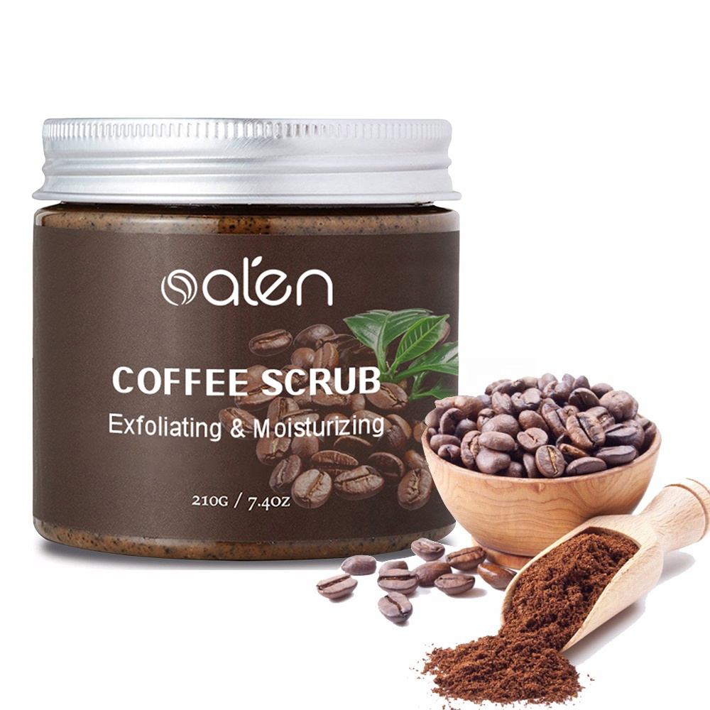 Hot Koop Custom Private Label Reiniging Koffie Gezicht Body Scrub