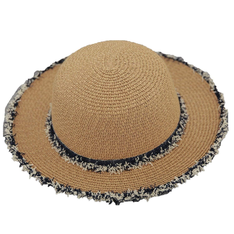 b7976acd990 Attack Hat Summer Retro Rafi Cowboy Hat Travel Sun Hat Small Fresh Beach  Fisherman