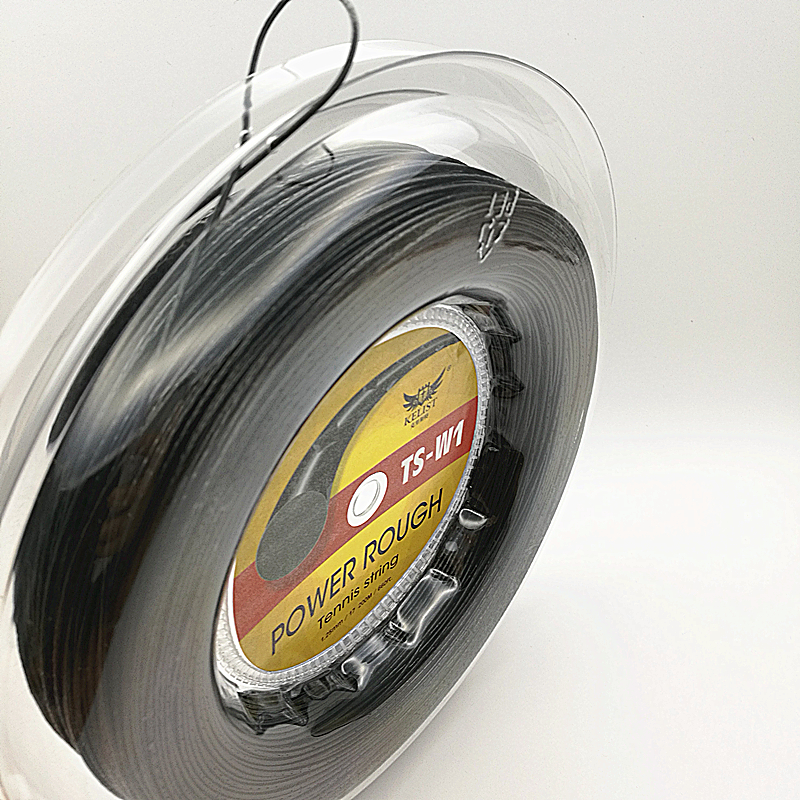 Alu power 1.25mm/17 200m reel black color tennis string фото