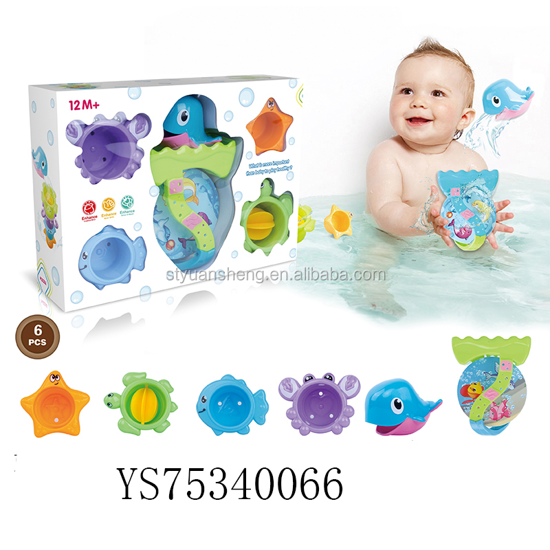 Toys & Hobbies Pools & Water Fun Generous Shower Toy Childrens Bath Toys Baby Bath Water Spray Small Whale Toys Bath Toys