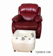 Pedicure Unit Station Hydraulic Massage Foot Spa Beauty Salon Chair