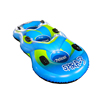 CE inflatable snow tube skiing, snow sled tube