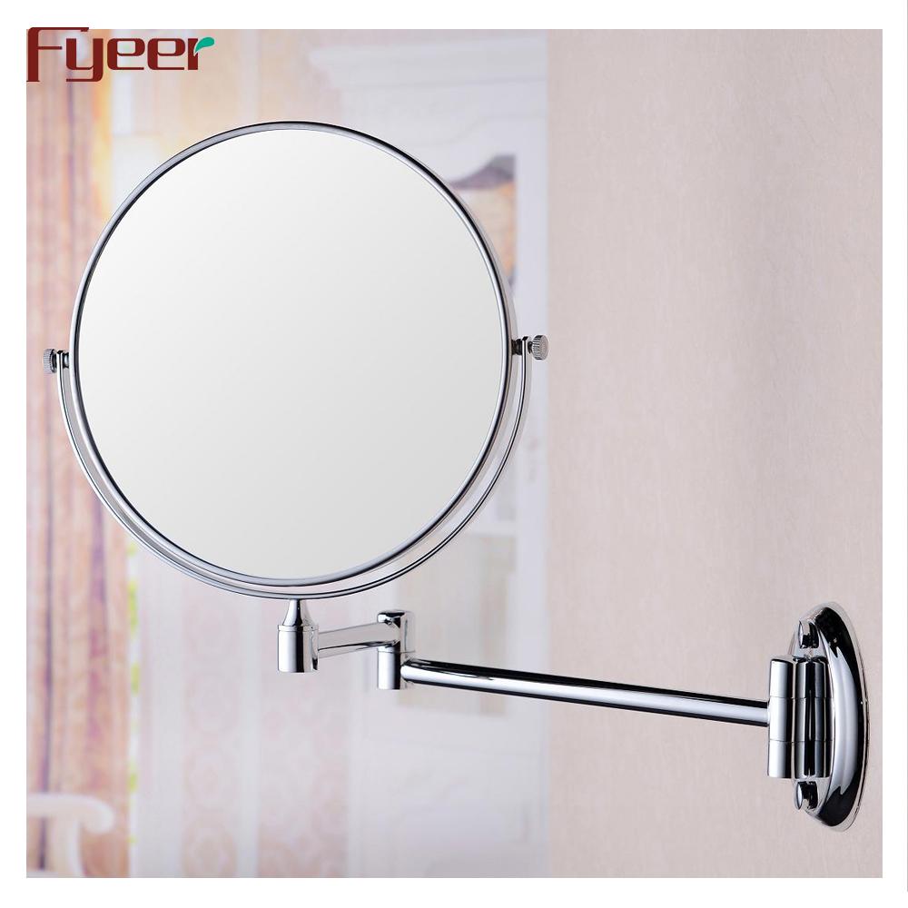 Haut Pflege Werkzeuge Led Beleuchtung Hd Make-up Spiegel Tabletop Eitelkeit Spiegel Kosmetische Einzigen Spiegel