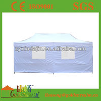 3x3m folding tent with single inside wall skirt