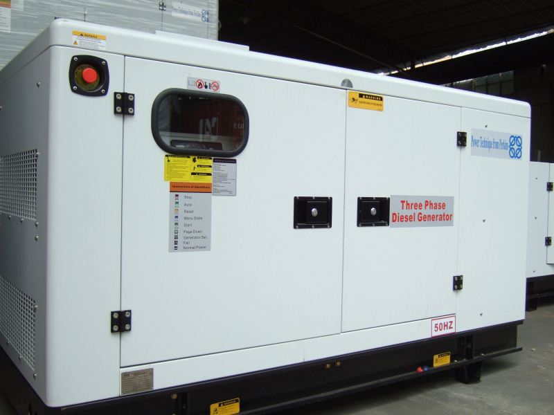 China Professional Silent Diesel High Power yuchai diesel generating set 30kw