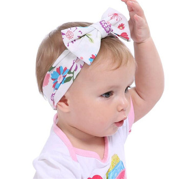 New Fashion Baby Kids Cotton Bow Tie Headbands In Stock - Buy ... 85f07b39b7b