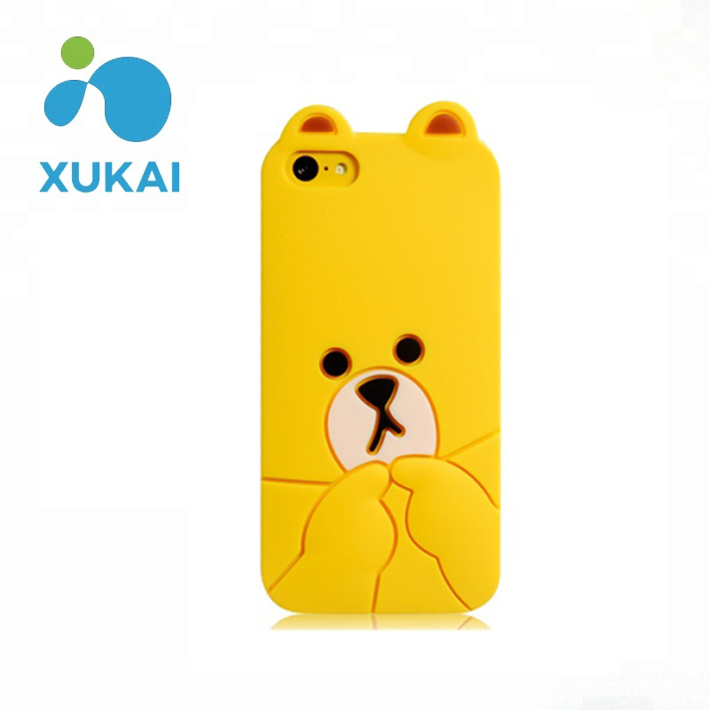2018 Cute High Quality Mobile Silicon Phone Case
