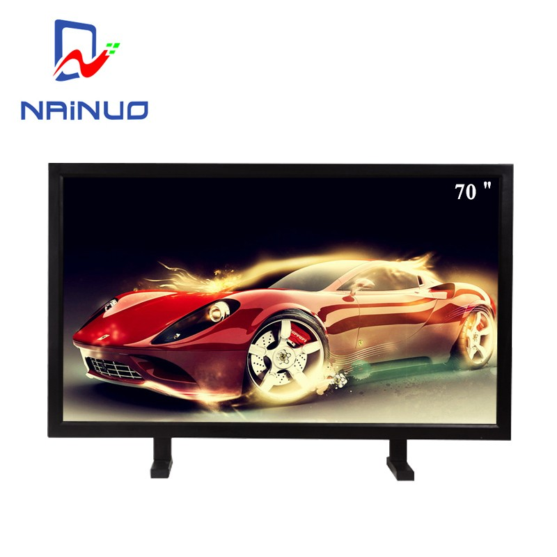 70 inch big screenLCD wireless monitor security cctv monitor