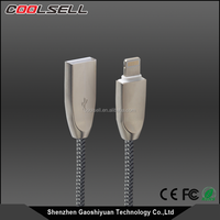 Zinc braided Mfi cable