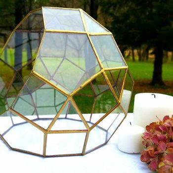 Envelope Holder For Conservatory Glass Terrarium Wedding Centerpiece