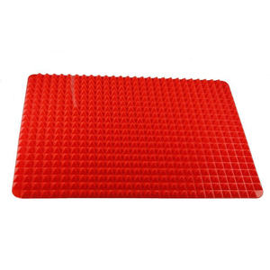 """custom best non slip no stick raised silicone baking mat heat resistant silicone oven mat liner """