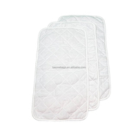 Factory OEM baby products waterproof 3 packs cotton changing pad cover set