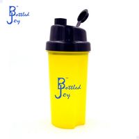 bottledjoy plasic powder shaker bottle,custom powder shaker bottle for protein shakes