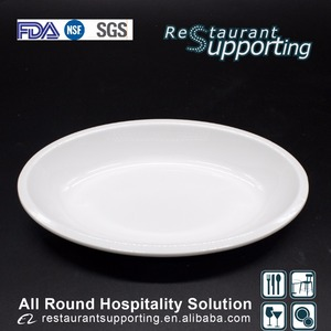 Custom high quality hotel banquet melamine dishes on sale
