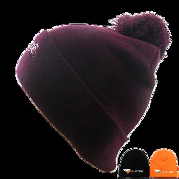 Cuff Beanie - Embroidered Element Beanie - Full Color Pom Custom Beanie 72c30613d2b7