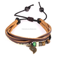 Fashion jewelry accessories wholesale adjustable rope bracelet men