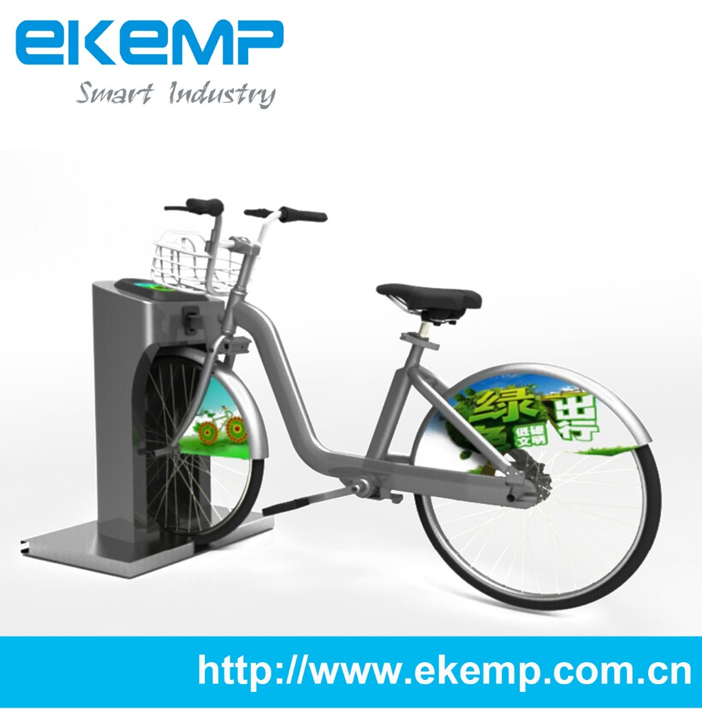 Bike Sharing Solution with QR code and RFID Card for Urban Transportation