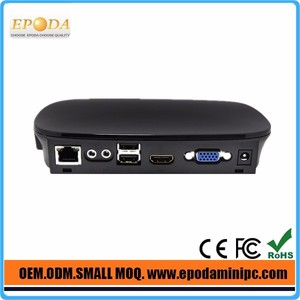 Full I/O support with 3 USB ,HD 1080P PXE Thin Client Office Station