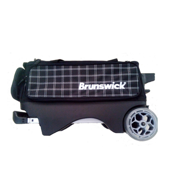 Brunswick Bowling Bag 2 Ball Roller Balls Double Bags With