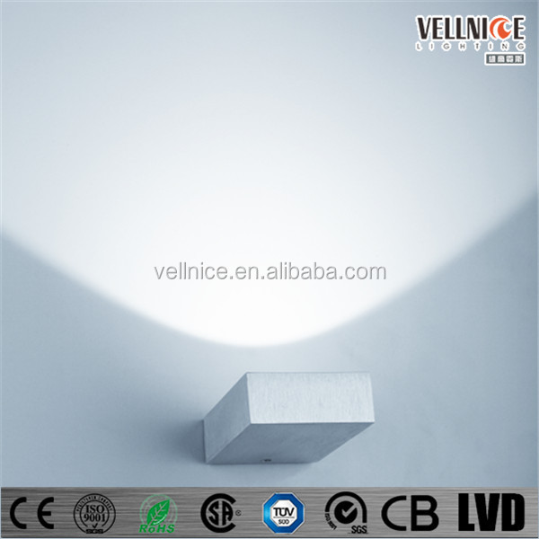 Up-light 1x3w Indoor Led Wall Upward Lighting