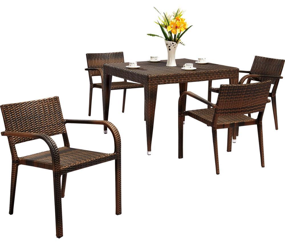 Outdoor Furniture Garden Rattan Dining