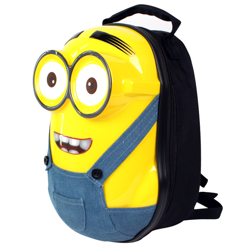 Deable Me Minion Backpack 13 Inch 3d Minions School Bags Cartoon Hard S