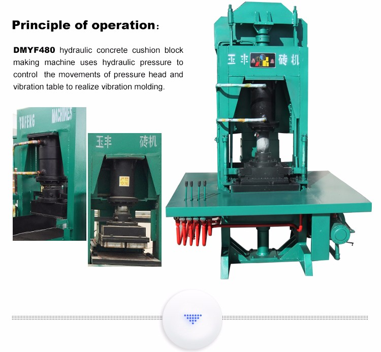 Concrete Spacers Making Machine Instead Of Vibrator