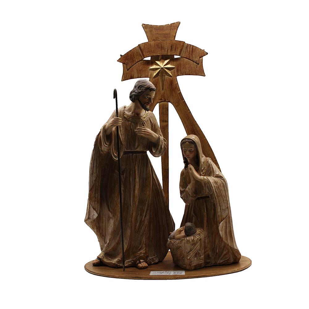Resin Christmas Nativity Set Religious Figurines