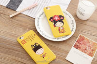 Eco-friendly silicone phone case/cute cartoon phone case