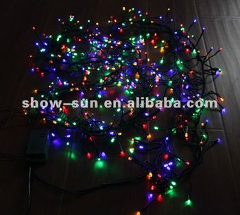 576 Led Cluster Lights 3.4m Christmas Lights Installation