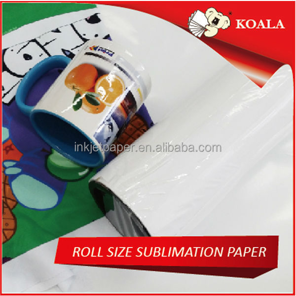 60gsm/80gsm/90gsm/100gsm Sublimation inkjet heat Transfer Paper for textile fast dry