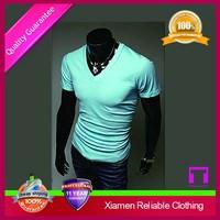 Custom best quality comfortable modern t-shirt no side seams