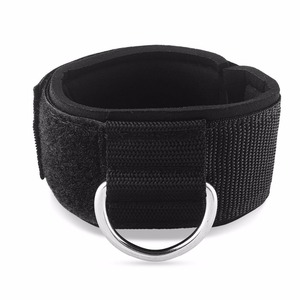 Neoprene D ring Ankle Straps d ring Machine Cable Workouts cuff