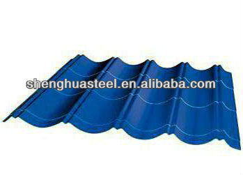 Factory Hot Sale Corrugated Steel Metal Roofing Sheet/Slate/Tile Materials Shingles Supplier In Yiwu