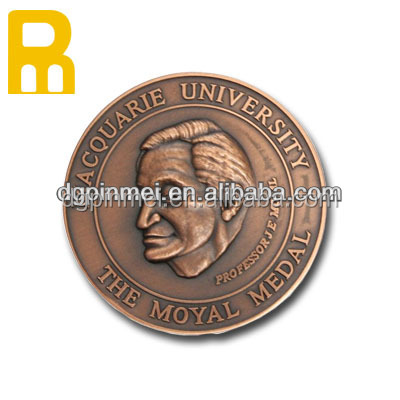Most popular custom round shape challegen souvenir coin