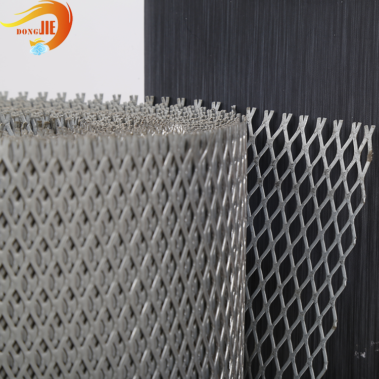 expandable sheet 0.2-2mm Thickness Expanded Metal Mesh